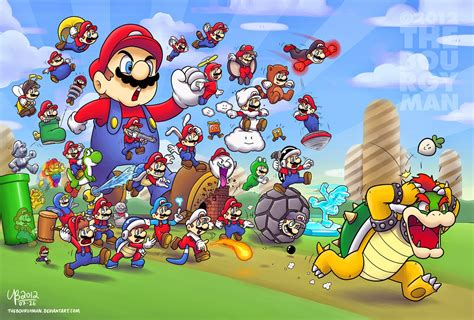 Life Of Turner Ranking The Mario Games The Power Ups