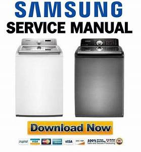 Samsung Wa456drhdwr Wa456drhdsu Service Manual And Repair