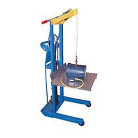 Lift Trucks Manual Lift Optional Hand Crank Winch