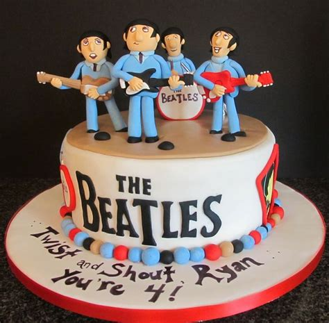 17 Best Images About Cakes Beatles On Pinterest