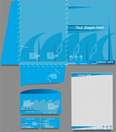 logo business card  letterhead template  vector