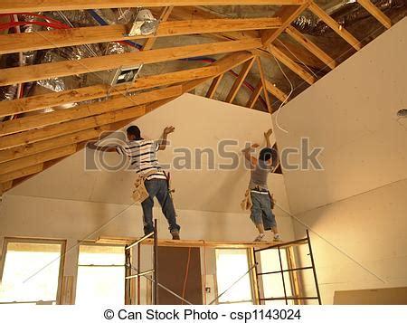 stock de fotos de conectar sheetrock   alto techo