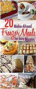 Meal Prep Einfrieren : 20 make ahead freezer dinners for busy moms meal prep ideas abendessen einfrieren leckeres ~ Somuchworld.com Haus und Dekorationen