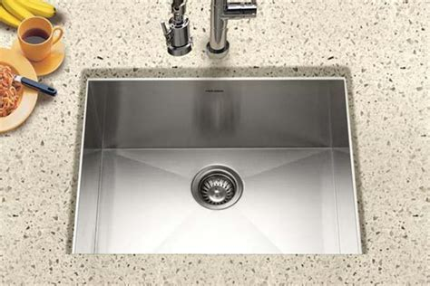Houzer Stainless Steel Zero & Small Radius Kitchen Sinks