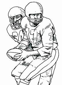 Football Printables Coloring Pages Colouring To Print Ball