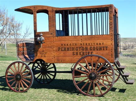 Reproduction Jail Wagon Display Wagons & Carts Hansen