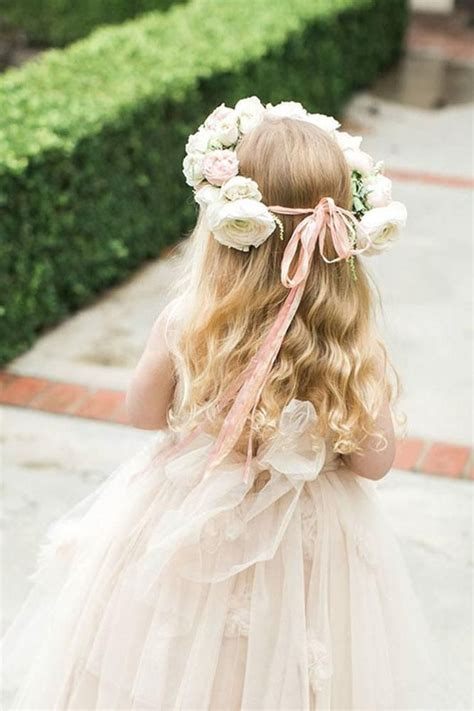 21 Most Cutest Flower Girl Hairstyles Haircuts