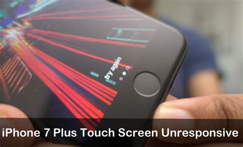 iphone screen unresponsive iphone 7 iphone 7 plus touch screen unresponsive how to