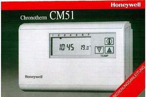 Honeywell Raumthermostat Bedienungsanleitung