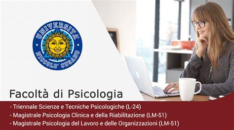 Facoltà Psicologia Test Ingresso Laurea In Psicologia Lavoro E Delle Organizzazioni