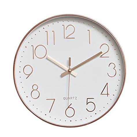 wanduhr modern dobess wanduhr modern rosegold wanduhren shop24