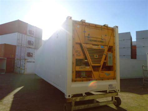location chambre froide mobile conteneur container contenair maritime et stockage 40