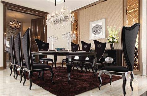 Black Dining Room Sets by Formal Dining Room Sets A X Sovereign Black Crocodile
