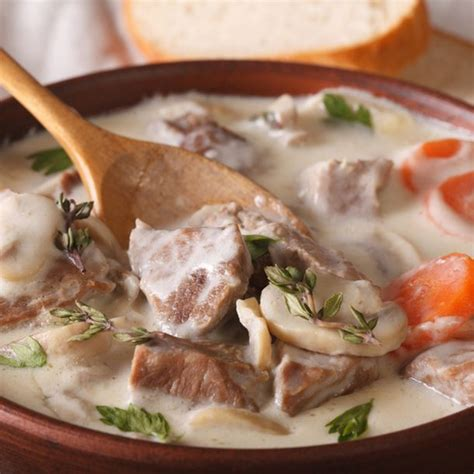 recette blanquette de veau 224 l ancienne