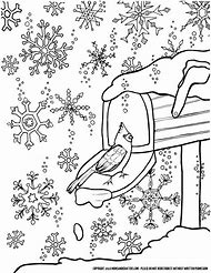 Best Winter Coloring Pages Ideas And Images On Bing Find What