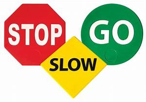 Stop And Go : stop slow go set of 3 ross athletic supply ~ Medecine-chirurgie-esthetiques.com Avis de Voitures