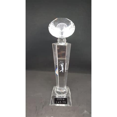 diamond shape head golf trophy  store