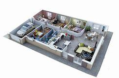 hd wallpapers plan maison plain pied 100m2 3d plan maison plain pied - Plan De Maison De 100m2 Plein Pied