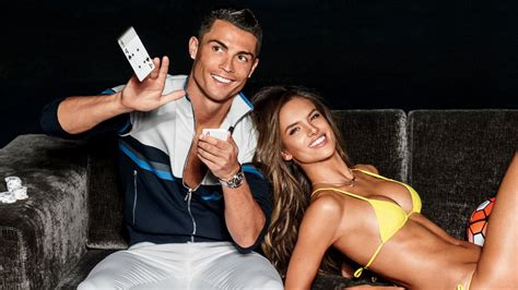 cristiano ronaldo and alessandra ambrosio show us what to wear when yo gq