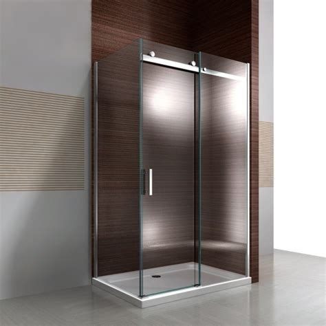 shower cubicle nano real glass sliding door ex806