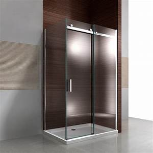 ensemble parois de douche dangle bernstein la boutique With porte de douche coulissante avec protection parquet salle de bain