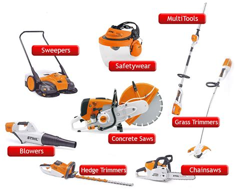 Stihl Products and Machinery supplied by Angus Chainsaws