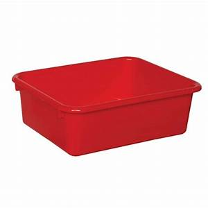 wood designs 5 inch red plastic letter tray classroom With red plastic letter tray