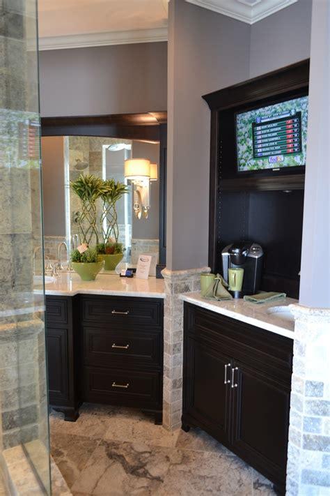 bar bathroom ideas best 25 tv in kitchen ideas on a tv built in