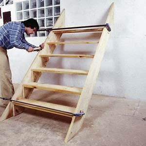 Fabriquer Son Escalier : comment fabriquer un escalier d 39 ext rieur en bois ~ Premium-room.com Idées de Décoration