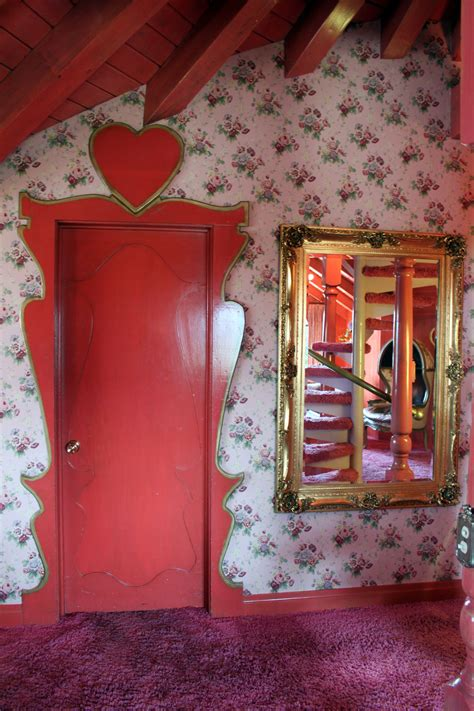 madonna inn paint  gown red