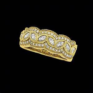 Antique Gold Ring Design Antique Design Anniversary Band