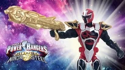 Ninja Power Rangers Steel Ranger Mode 25th