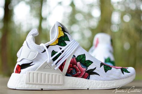 Austin Tattoo kendras customs brings pharrell vibes   nmd custom 750 x 500 · jpeg