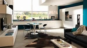 cucina e soggiorno open space le soluzioni di design pi With cucine soggiorno open space