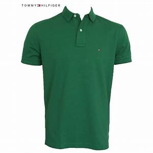 Tommy Hilfiger Polo Shirt | Mineral Green | Regular Fit