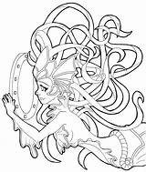 Coloring Legends Nami League Tidecaller Deviantart Adult Colouring Drawings Lineart Games Mermaids Draw Mermaid Chibi Designlooter 89kb 872px sketch template