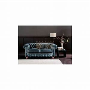 canape cabriolet chesterfield style anglais 2 ou 3 places With canapé en cuir style anglais
