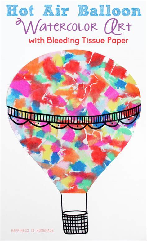 adorable hot air balloon themed crafts