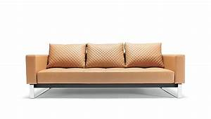cassius q deluxe sofa bed full size camel leather With cassius sofa bed