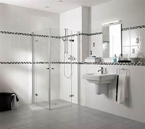 Carrelage salle de bain romantique for Salle de bain design avec carrelage salle de bain castorama