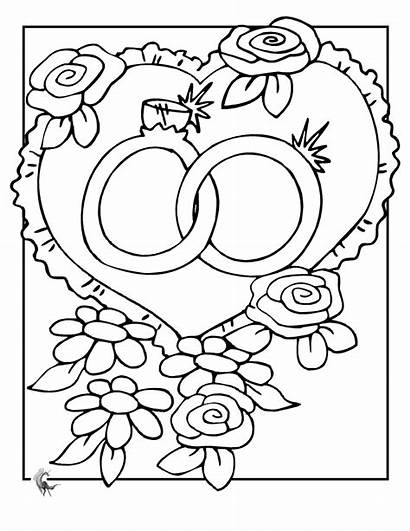 Coloring Pages Printable Rings