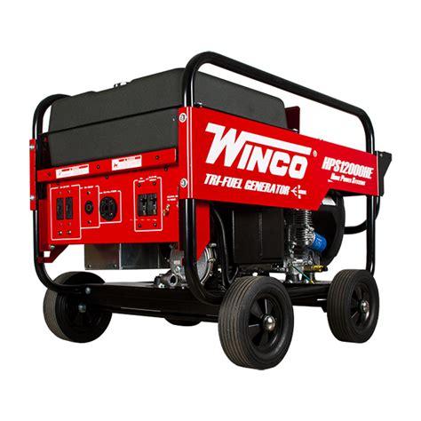 Winco Portable Generators   Generator Connection
