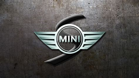 Mini Backgrounds by Mini Cooper Logos Glassy Wallpaper 1600x900 206359