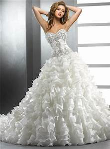 royal ball gown ivory wedding dress with beading With ball gown wedding dresses with beading