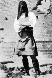 WW1 Gas Mask Soldier