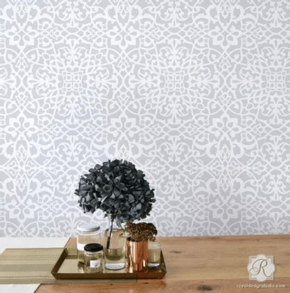 buy stencils  furniture  walls