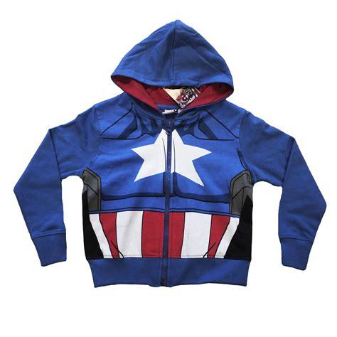kids boys official marvel avengers hoodie hooded