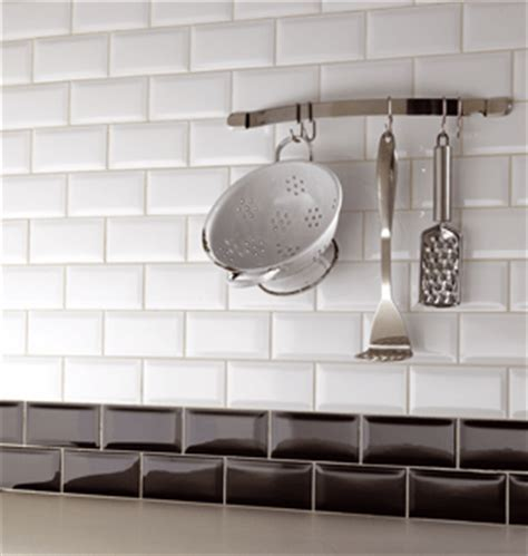 white brick tiles kitchen metro white brick shaped wall tile with a gloss finish 1259