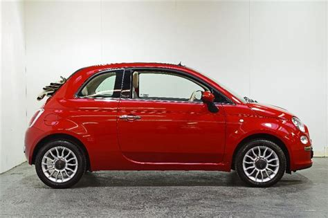 Fiat Lounge Convertible by Used Fiat 500c 1 2 Lounge Convertible 2dr Petrol