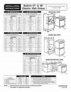 Maytag Mew6627dds Electric Wall Oven Guide D U0026 39 Installation